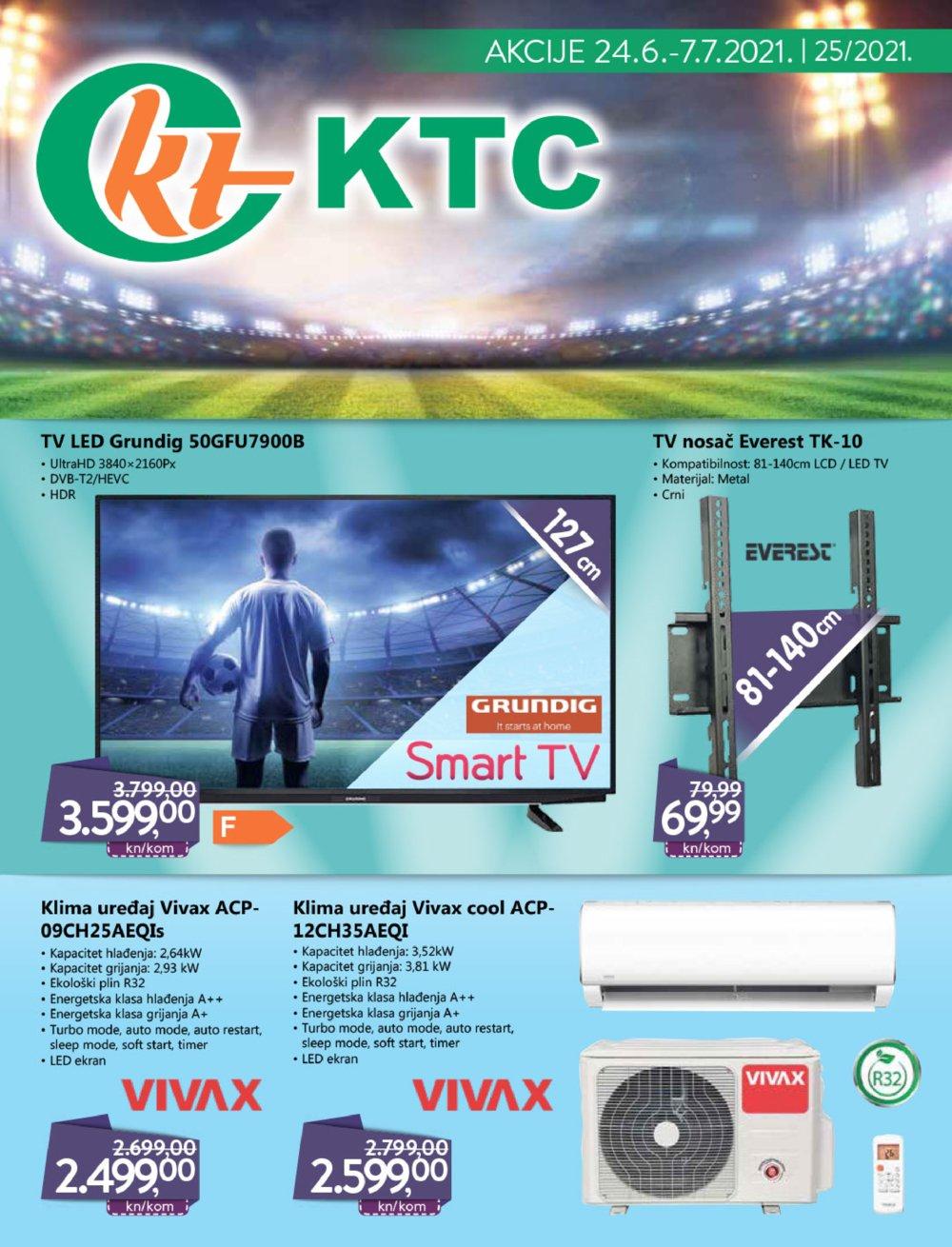 KTC katalog Tehnika Akcija 24.06.-07.07.2021