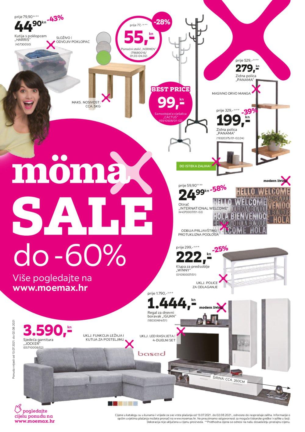 Momax katalog Akcija 13.07.-02.08.2021.