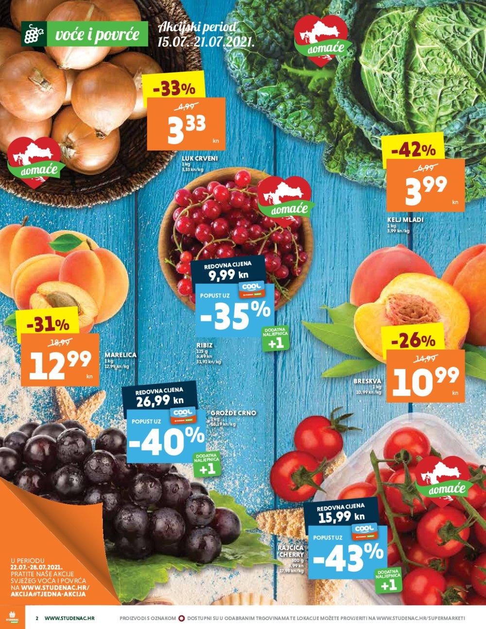 Studenac Jadran katalog Akcija 15.07.-28.07.2021.