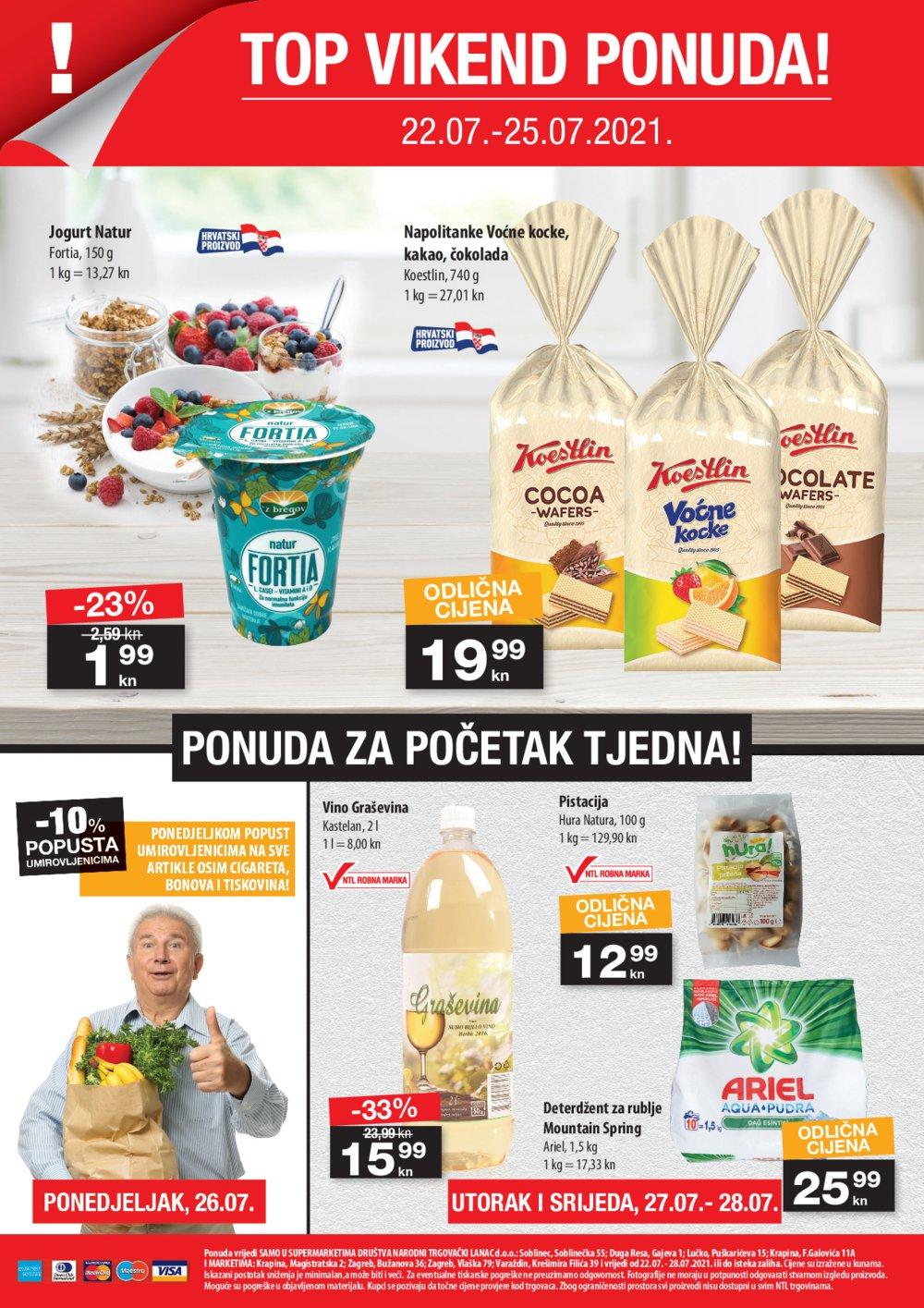 NTL katalog Akcija 22.07.-28.07.2021. Soblinec, Zagreb, Krapina, Lučko, Varaždin, Duga Resa