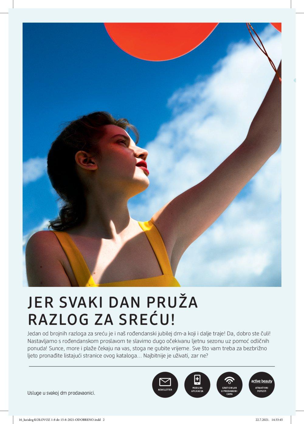 dm katalog Akcija Kolovoz 01.08.-15.08.2021.