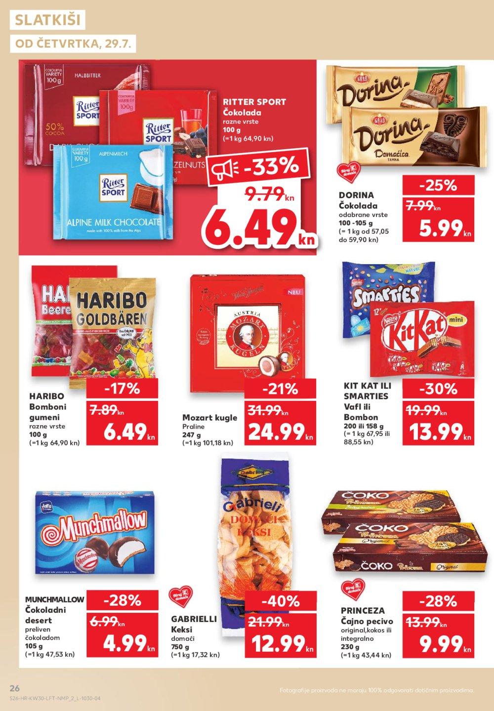 Kaufland katalog Akcija 29.7. - 5.8.2021.