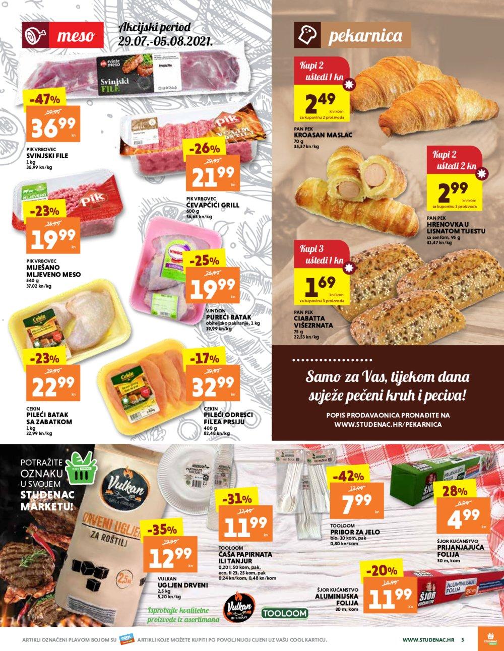 Studenac Jadran katalog Akcija 29.07.-11.08.