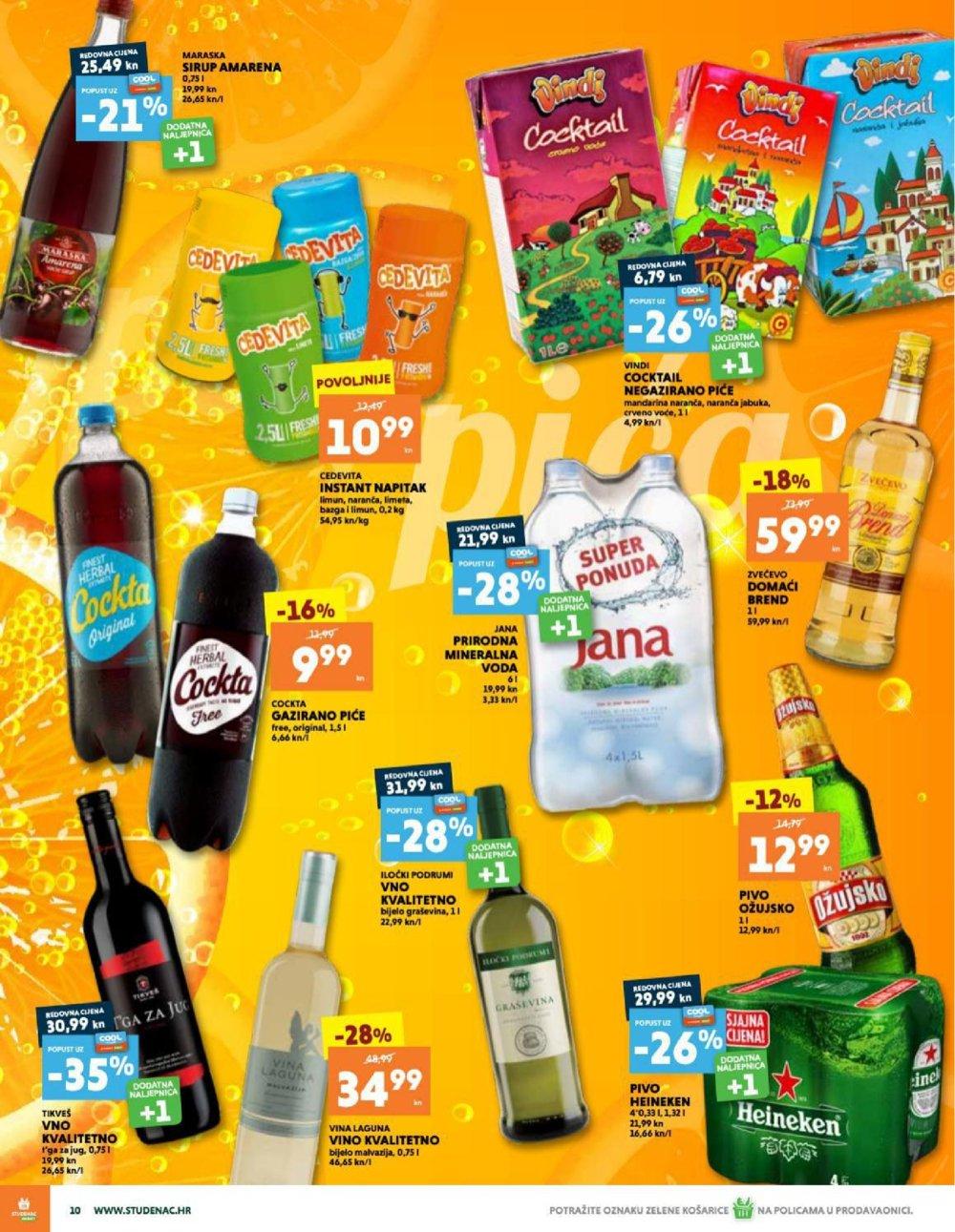 Studenac Zagreb katalog Akcija 29.07.-04.08.