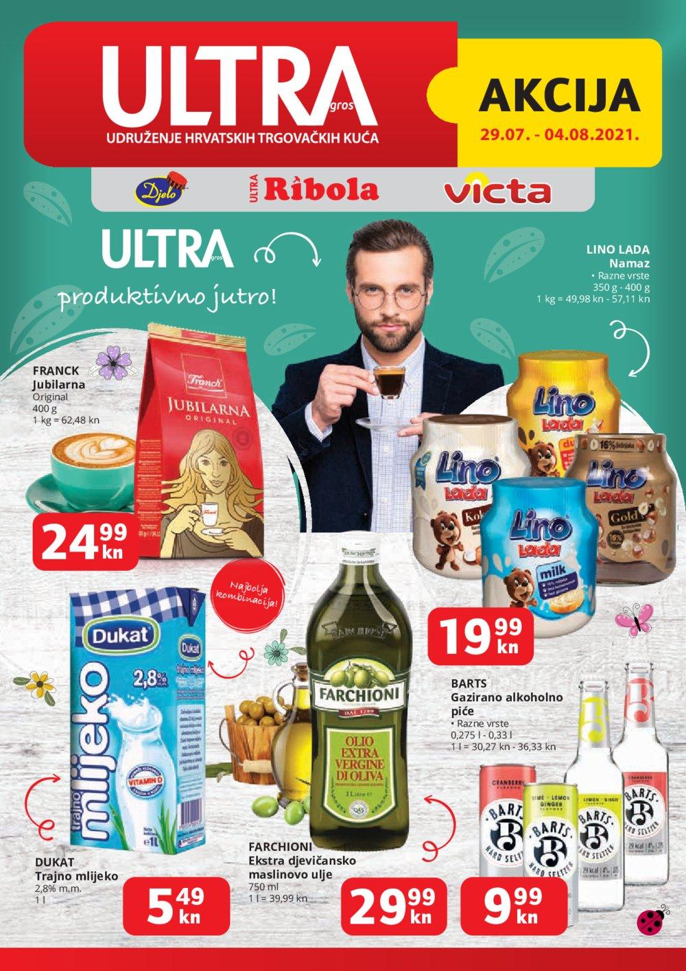 Ribola katalog Akcija Ultra gros 29.07.-04.08.2021.