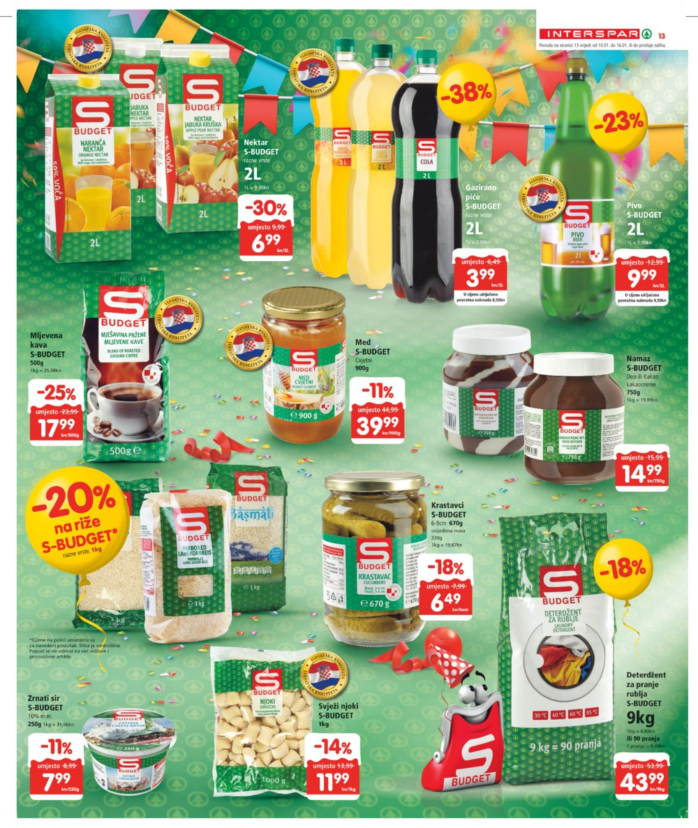 Interspar katalog Akcija od 10.1.2018. do 23.1.2018.