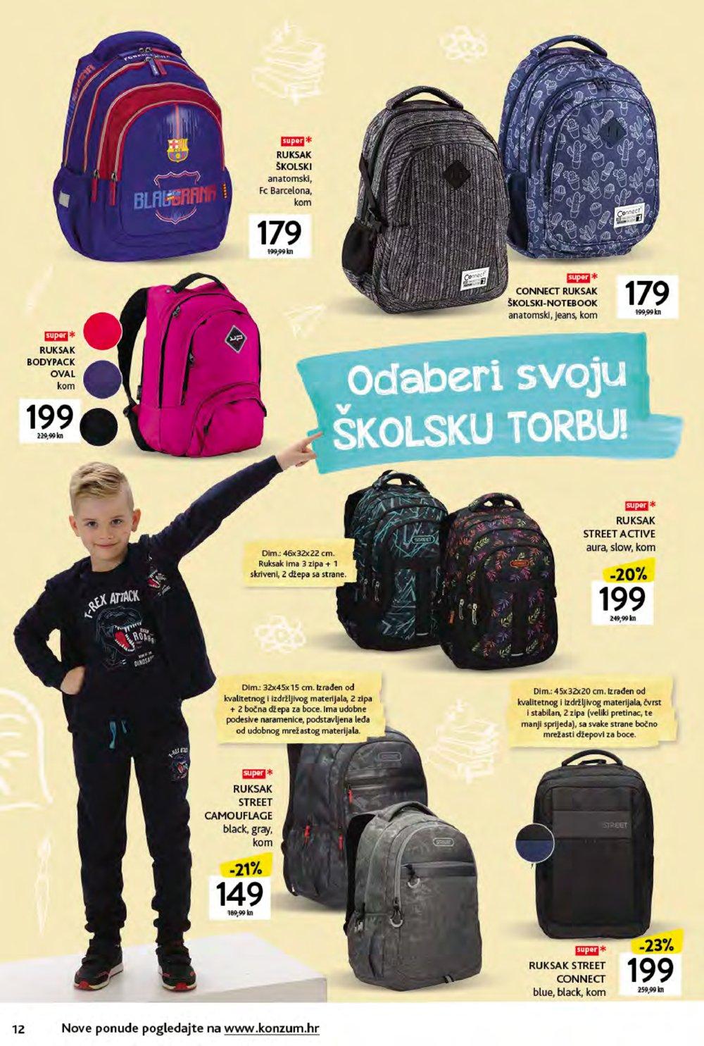 Konzum katalog Škola 16.08.-19.09.2021.