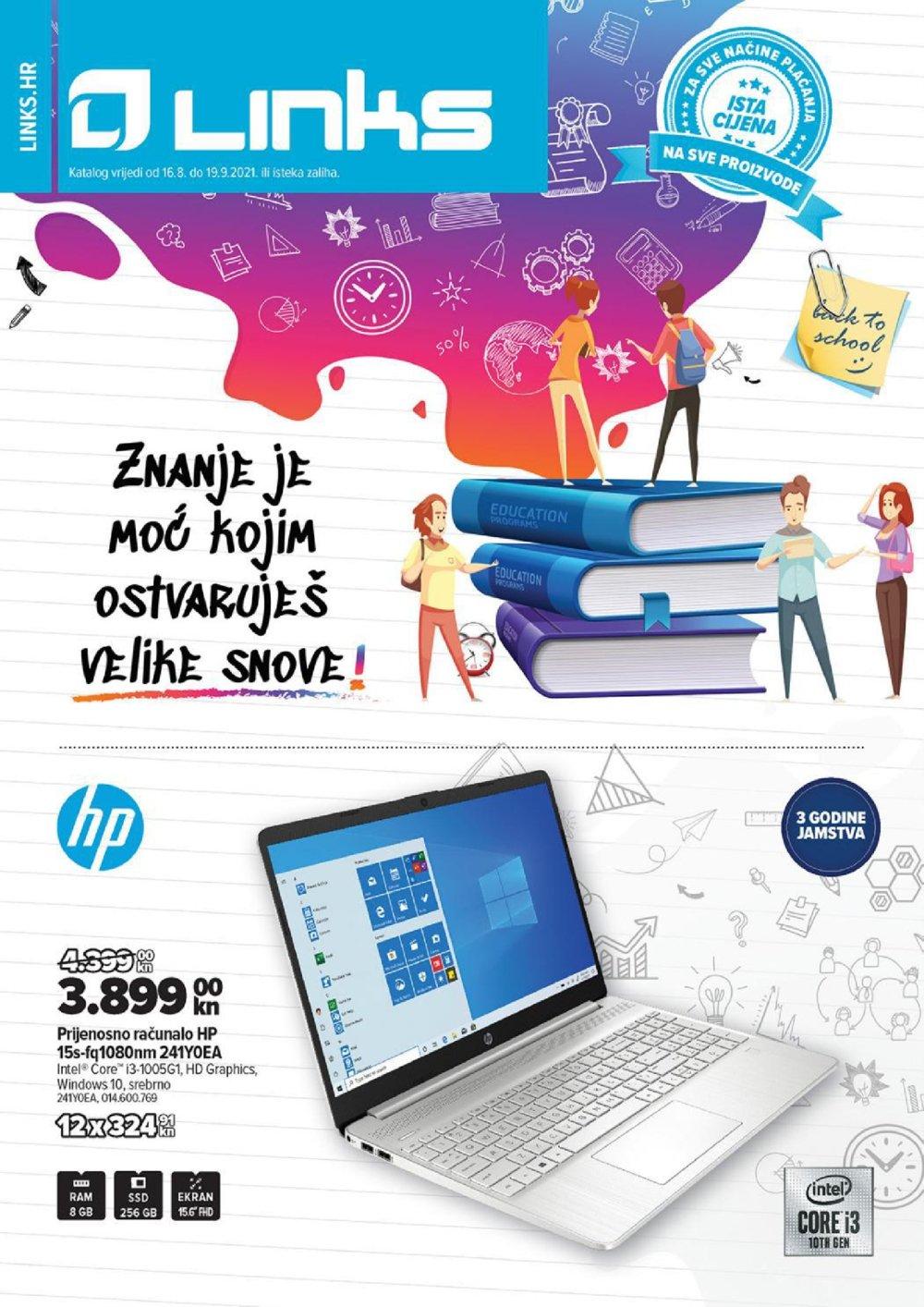 Links katalog Back to school 16.08.-19.09.2021.