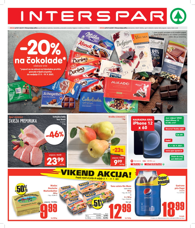 Interspar katalog Akcija 15.09.-28.09.2021.