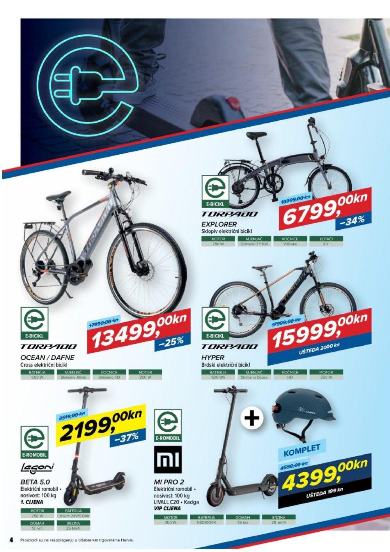 Hervis katalog Završetak biciklističke sezone 17.09.-26.09.2021.
