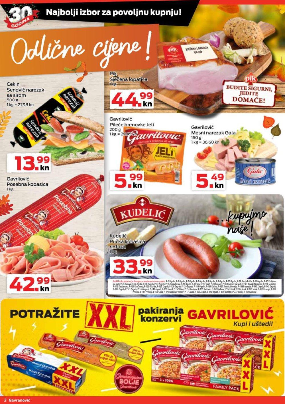 Gavranović katalog Akcija 23.09.-29.09.2021.