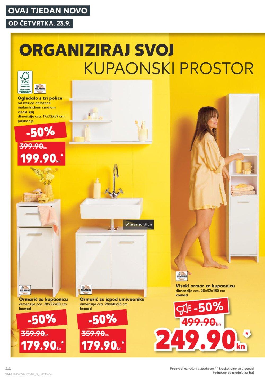 Kaufland katalog Akcija 23.09.-29.09.2021. Odabrane poslovnice