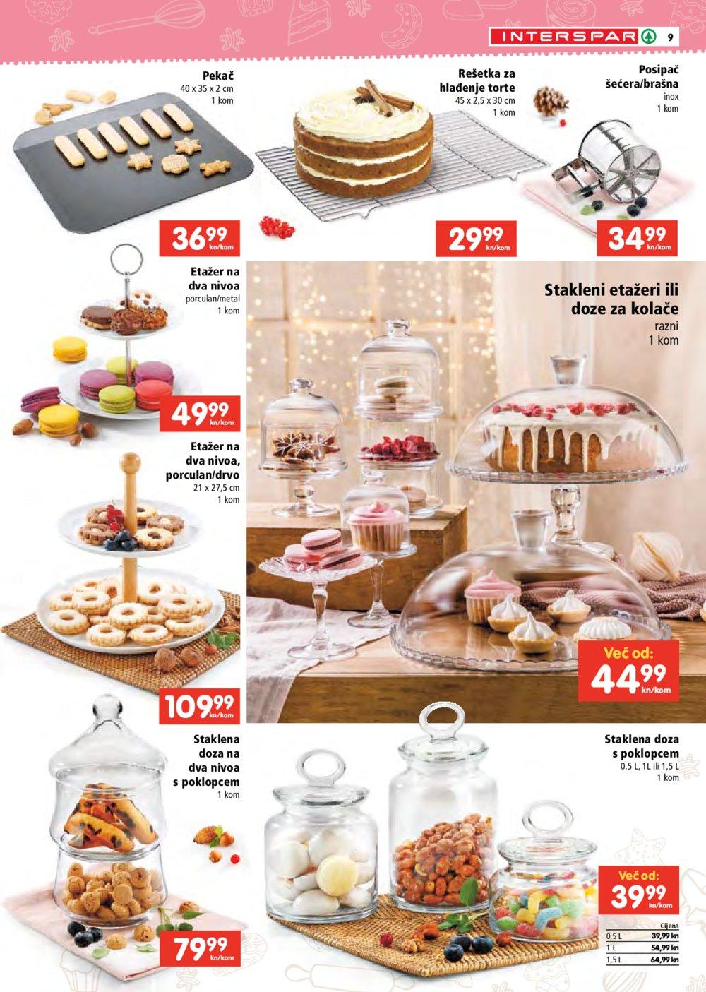 INTERSPAR katalog Vrijeme je za kolače 14.10.-05.01.2022.