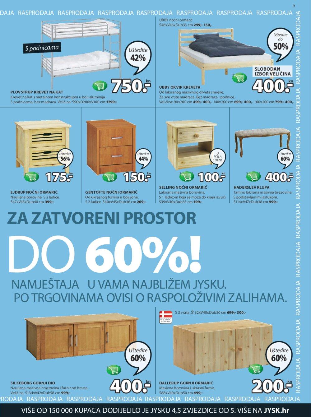JYSK katalog rasprodaja od 8.6. do 21.6.2017.