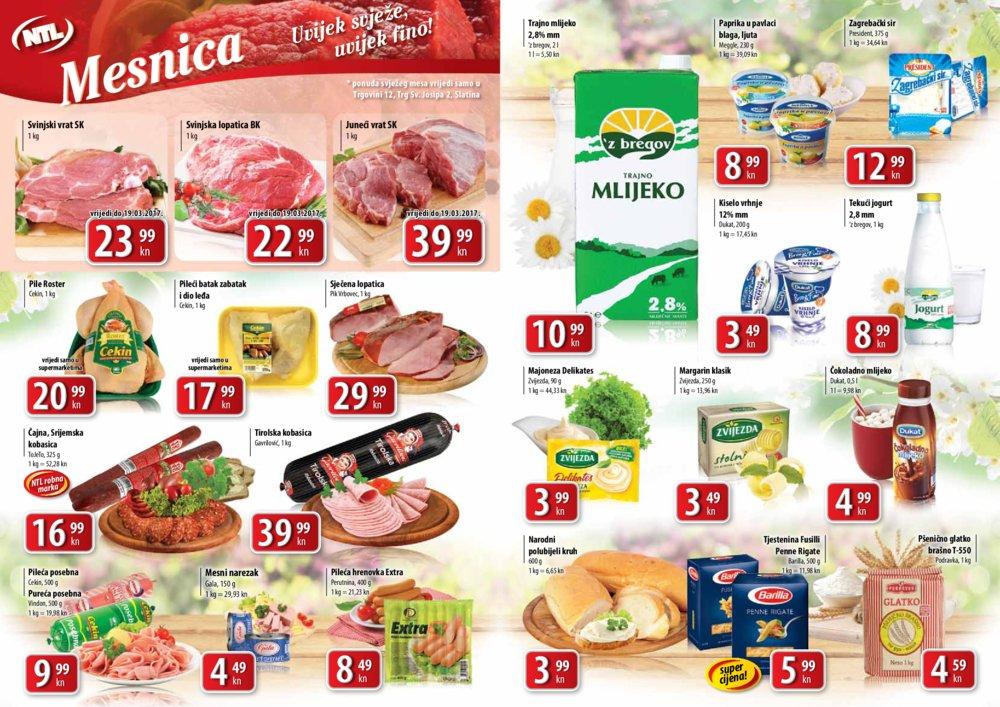 NTL Istok katalog Tjedna super ponuda do 22.3.2017.