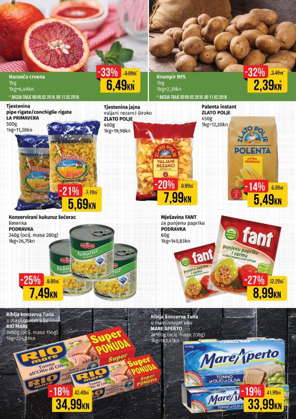 Istarski supermarketi katalog Akcija 05.02.-18.02.2018.
