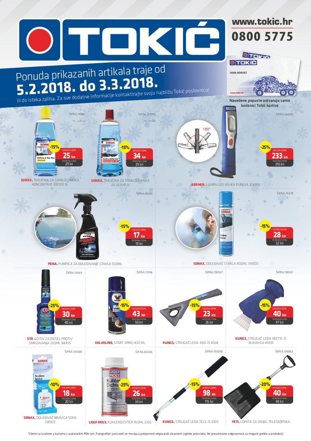 Tokić katalog Akcija od 05.02.-03.03.2018.