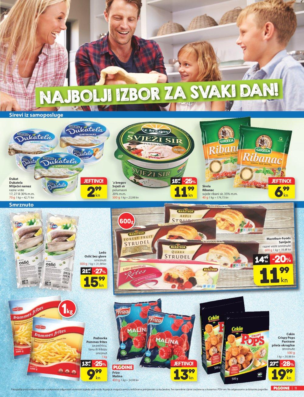 Plodine katalog Akcija do 22.03.2017.