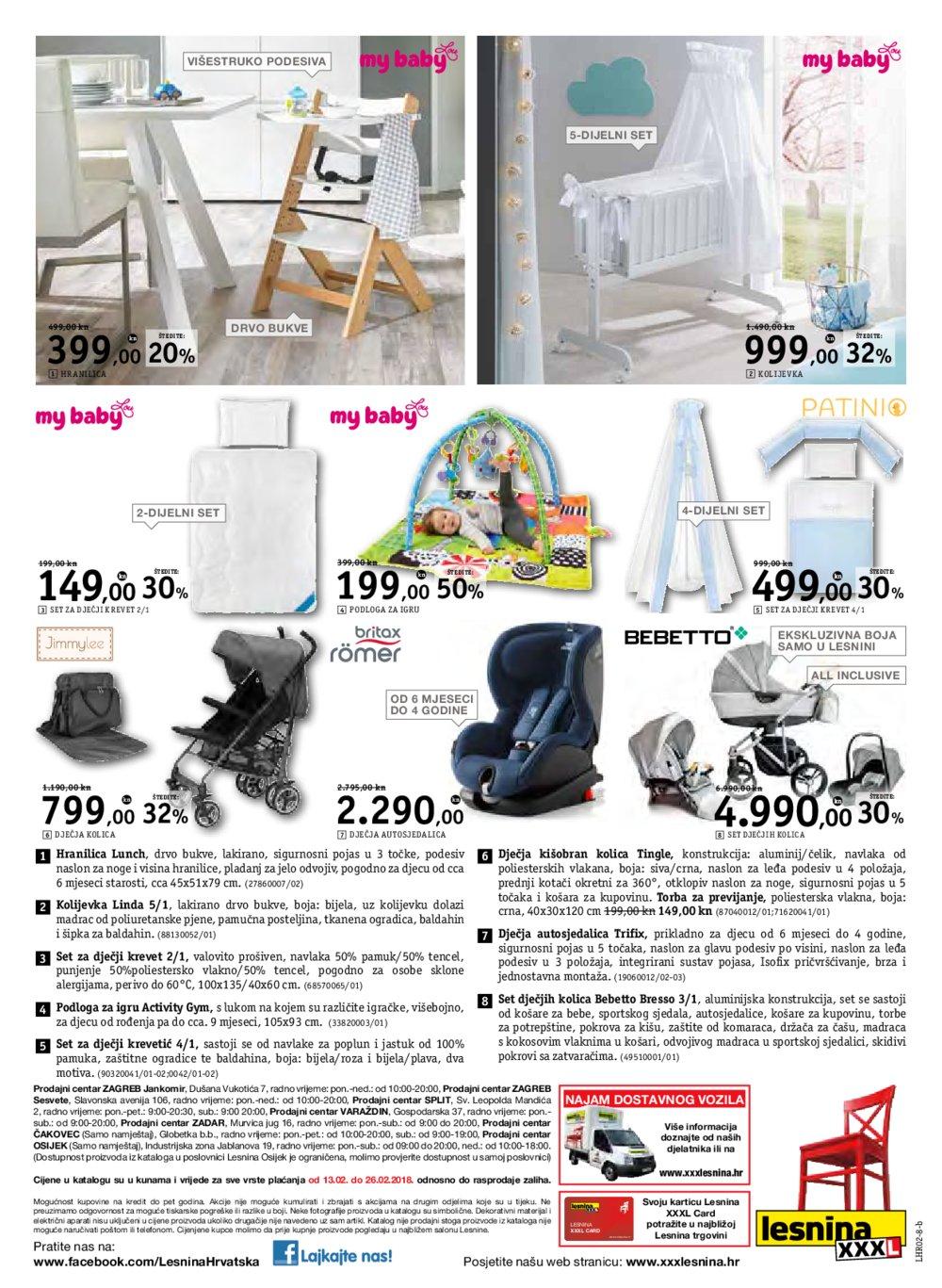 Lesnina katalog Dnevni boravak iz snova 13.02 - 26.02.