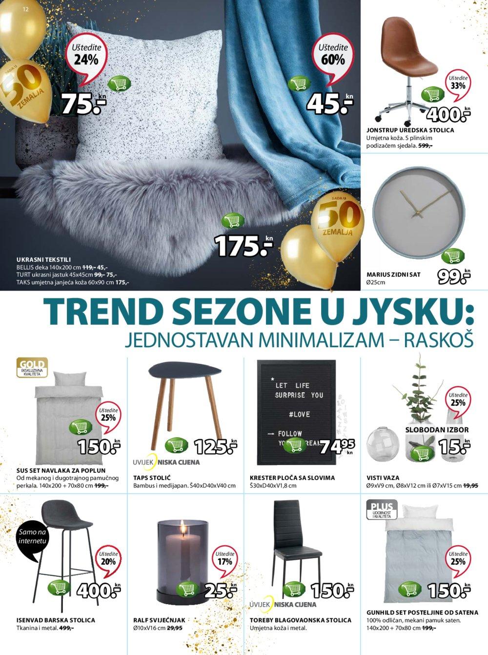 Jysk katalog Akcija 01.03.-14.03.2018.