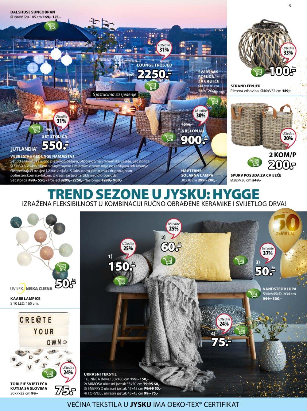 Jysk katalog Akcija 08.03.-21.03.2018.