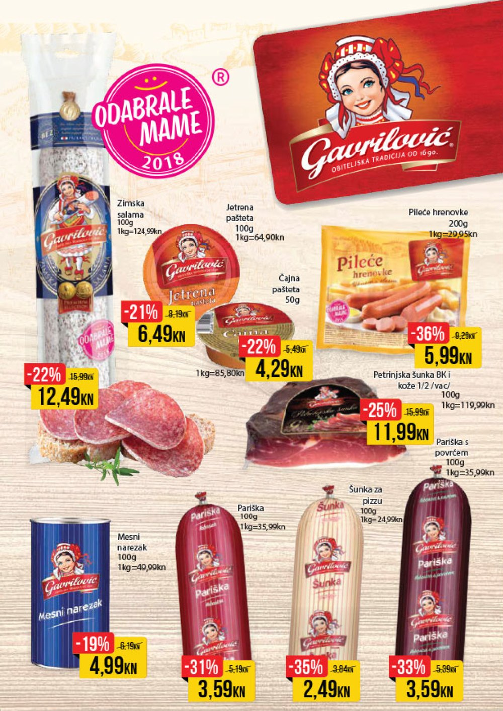 Istarski supermarketi Akcija od 05.03. do 18.03.2018.