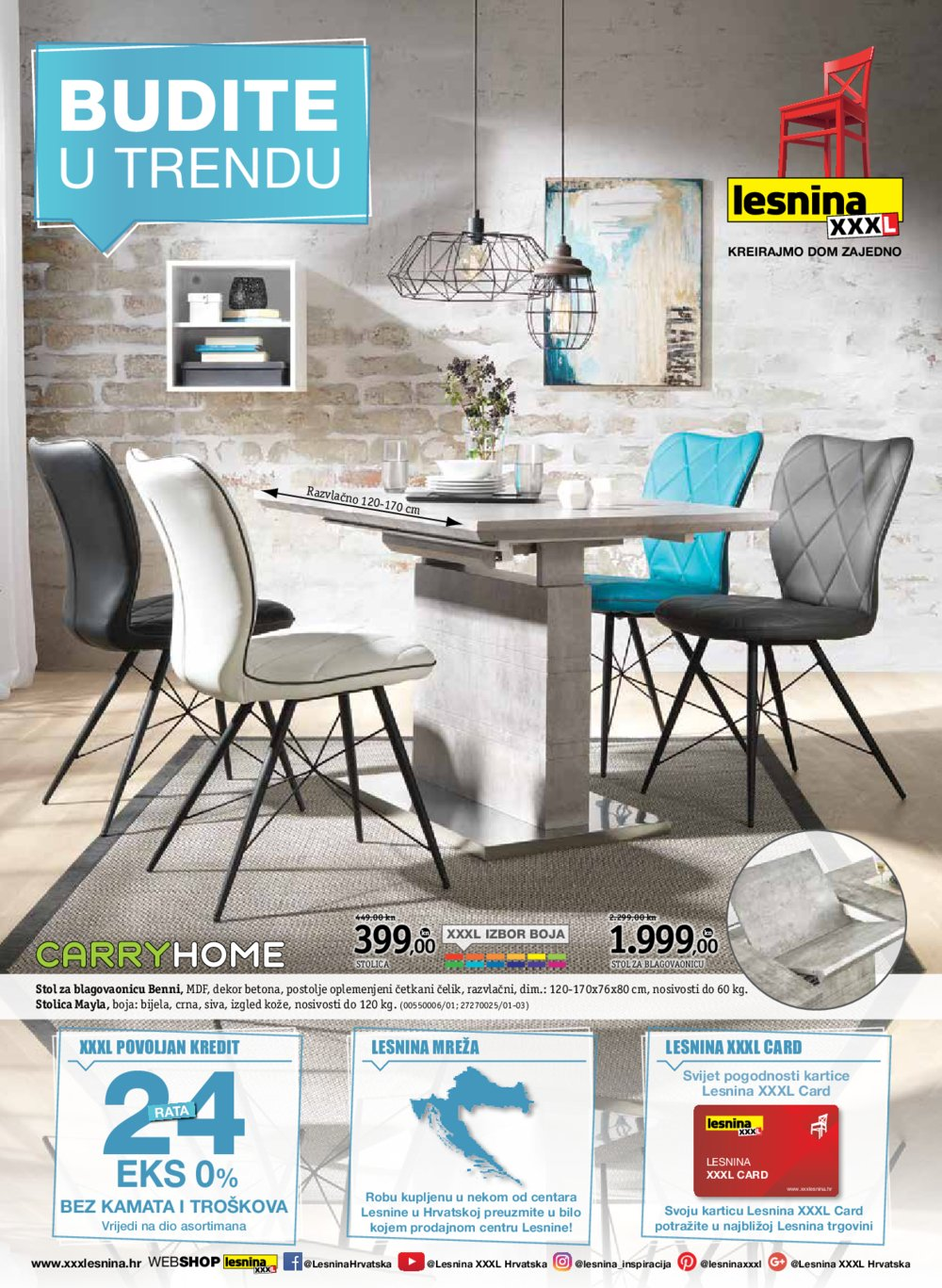 Lesnina katalog Budite u trendu 06.03.-19.03.2018.