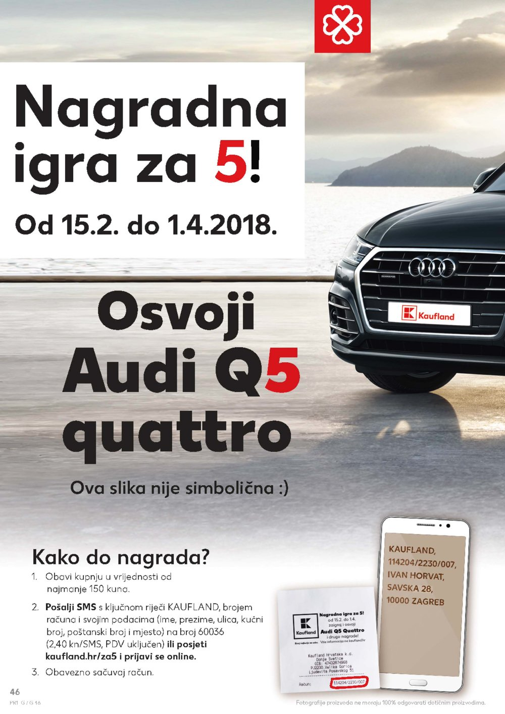 Kaufland katalog Akcija 08.03.-14.03.2018. Ka, Os, Sb, Se, Si, Sk, St, Um, Zgz