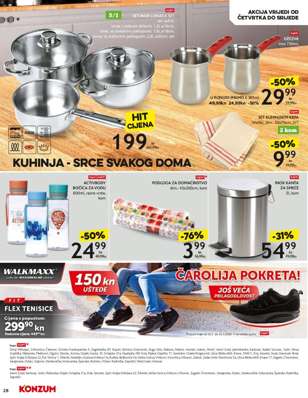Konzum katalog Akcija od 08.03.-14.03.2018.