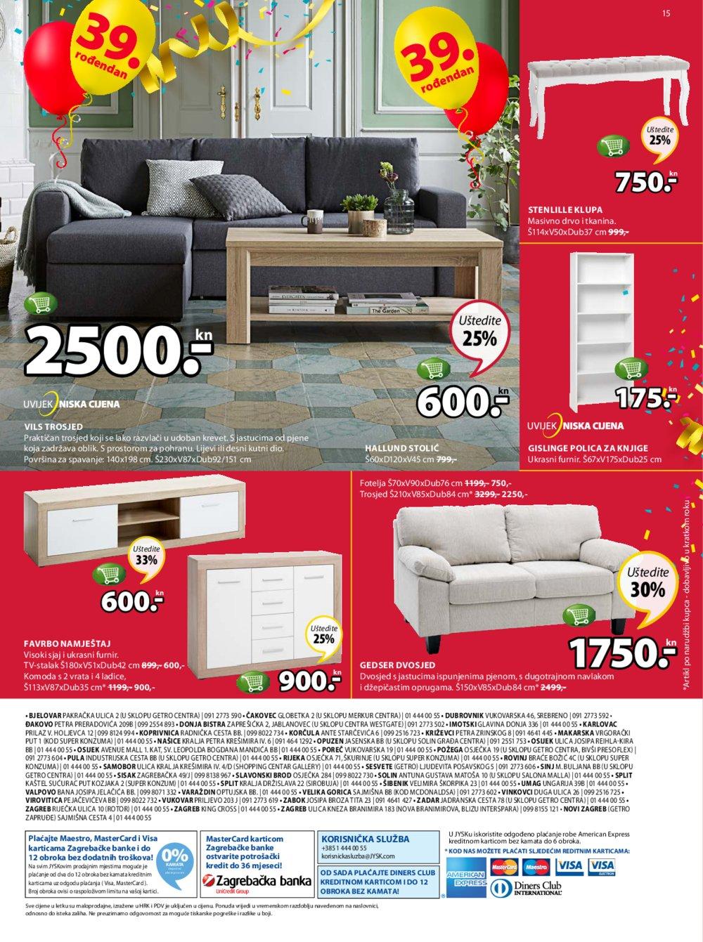 Jysk katalog Akcija 05.04.-18.04.2018.