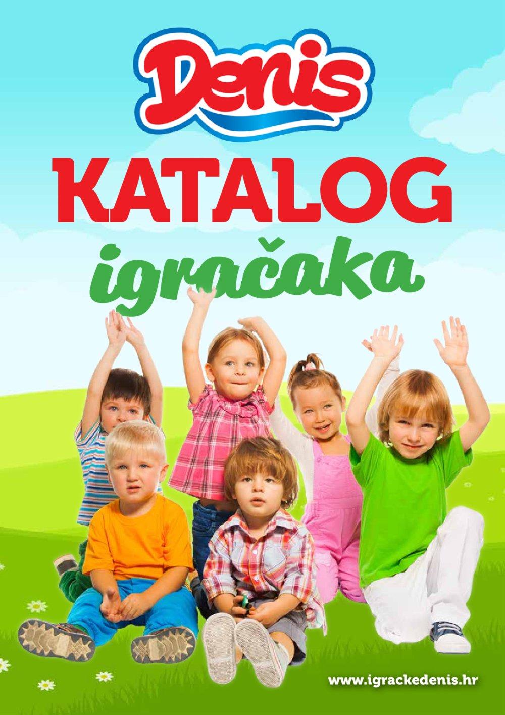 Eurom Denis katalog Igračke 04.04.-30.04.2018.