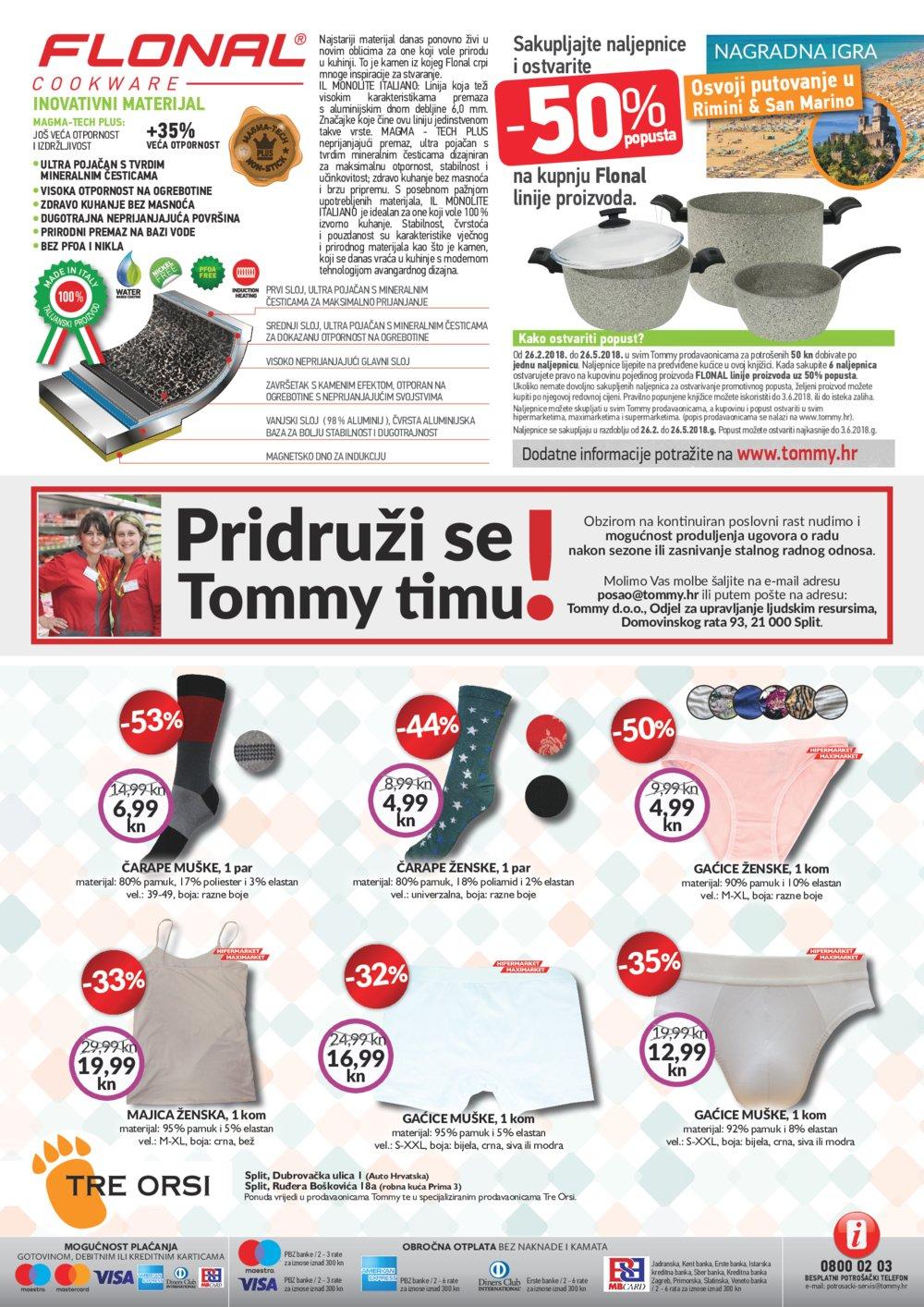 Tommy katalog Ponuda od 12.04. do 18.04.2018.