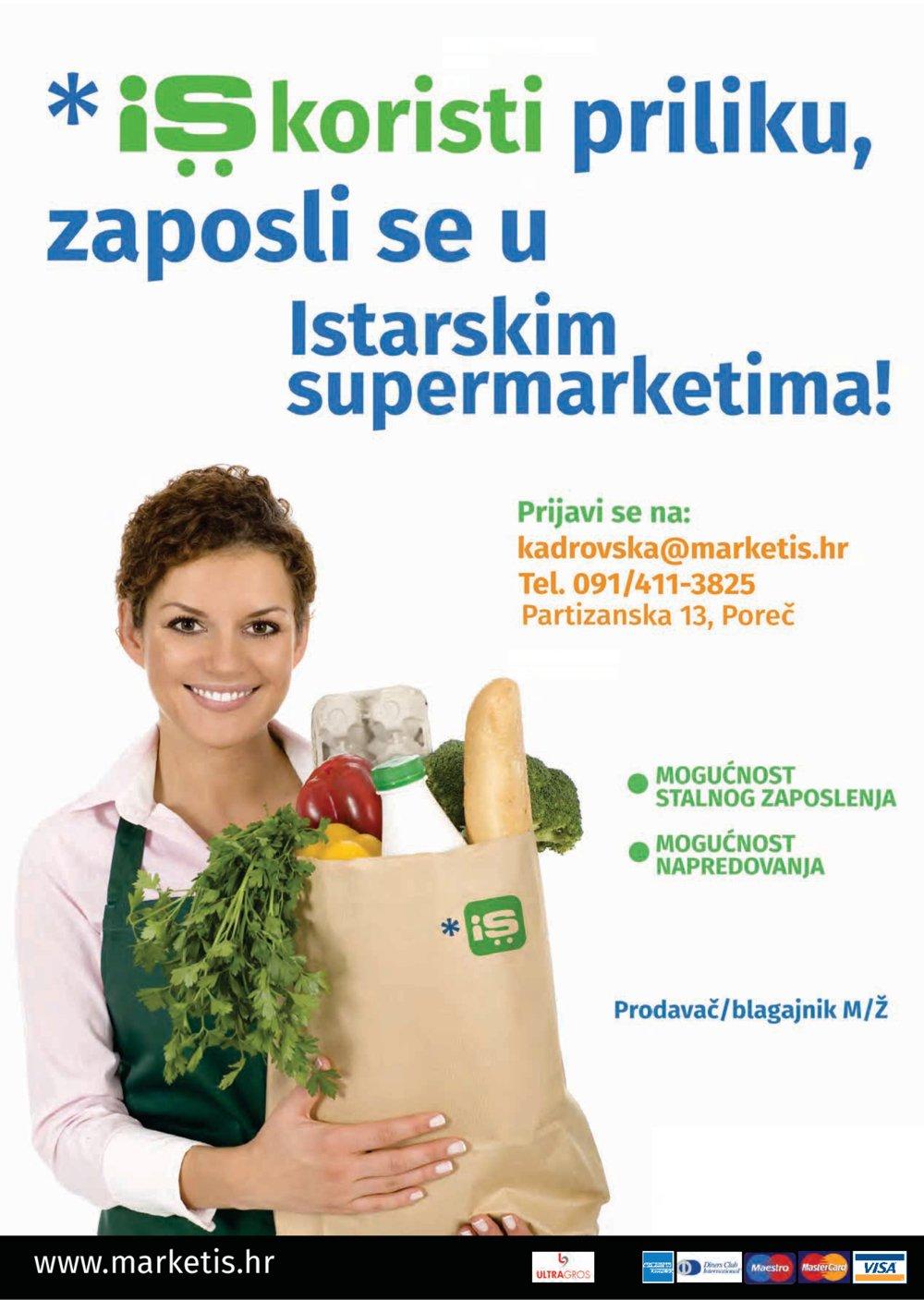 Istarski supermarketi katalog Akcija od 09.04. do 22.04.2018.