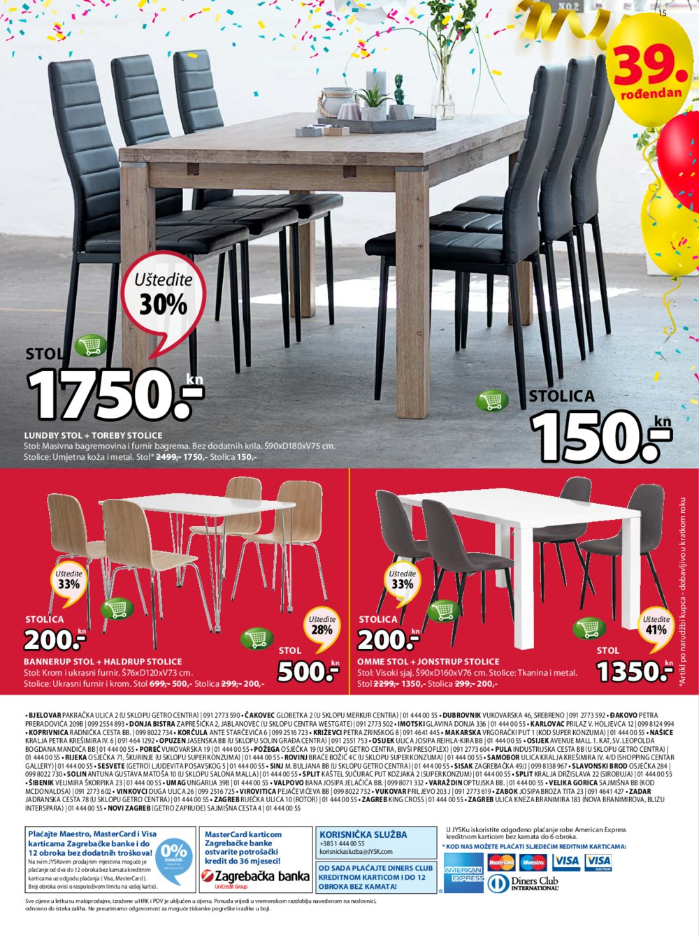 Jysk katalog Akcija 12.04.-25.04.2018.