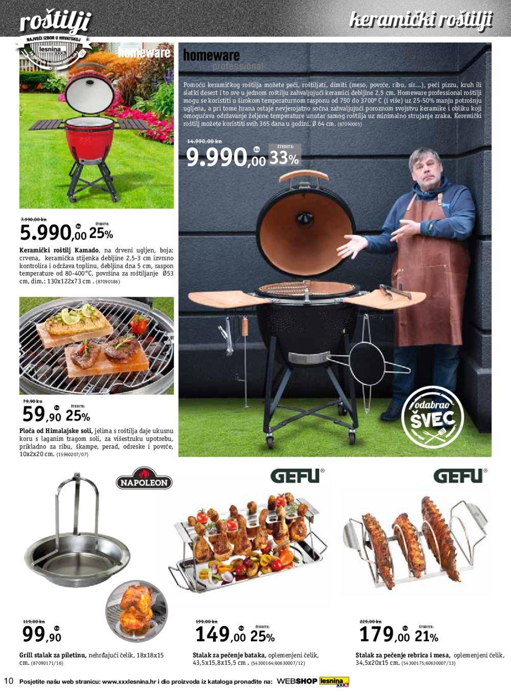 Lesnina katalog Volite roštilj 10.04.-30.05.2018. ZgJ ZgS Ri St Vž Zd Pu