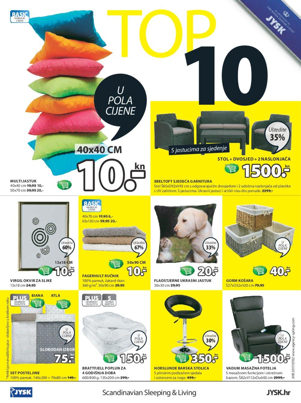 Jysk katalog Rasprodaja i ostale izvrsne ponude 13.07.-26.7.2017.