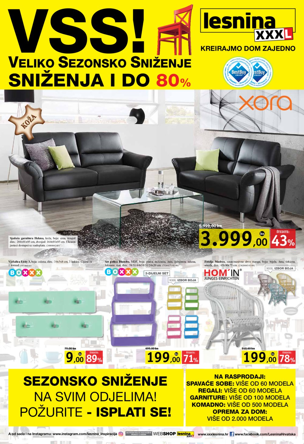 Lesnina katalog Veliko sezonsko sniženje 04.07.-17.07.