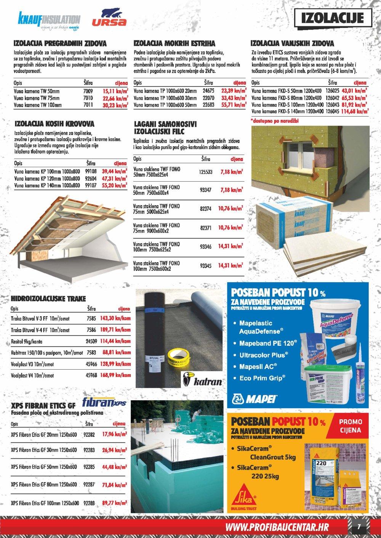 Profi Baucentar katalog Akcija od 23.03. do 31.05.2018.