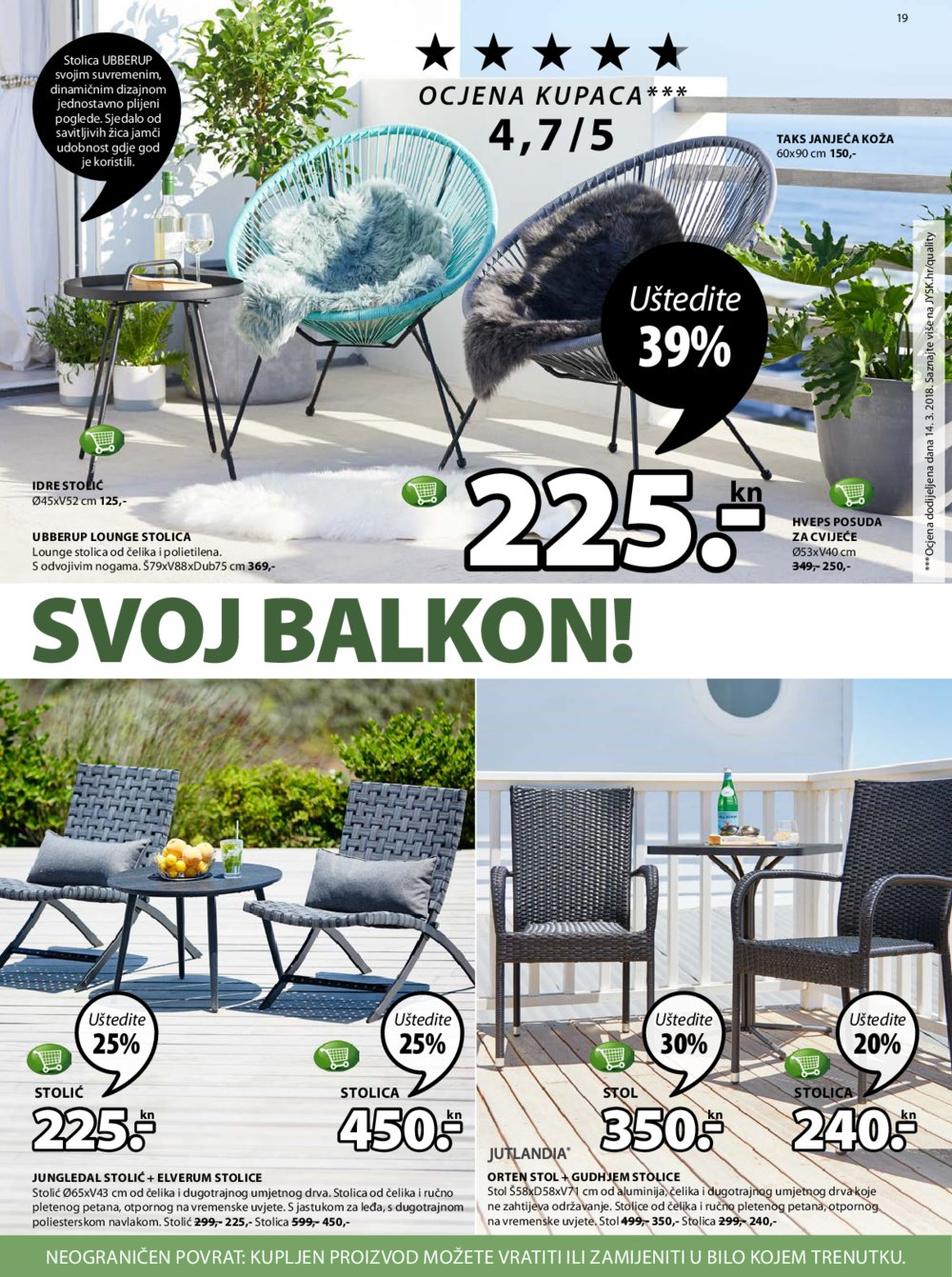 JYSK katalog Akcija 10.05.-23.05.2018.