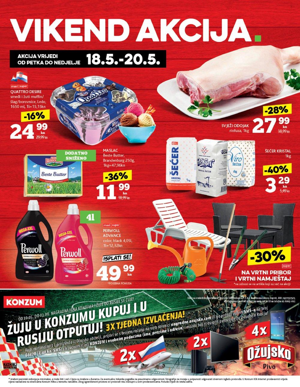 Konzum katalog Akcija 17.05-23.05.2018.