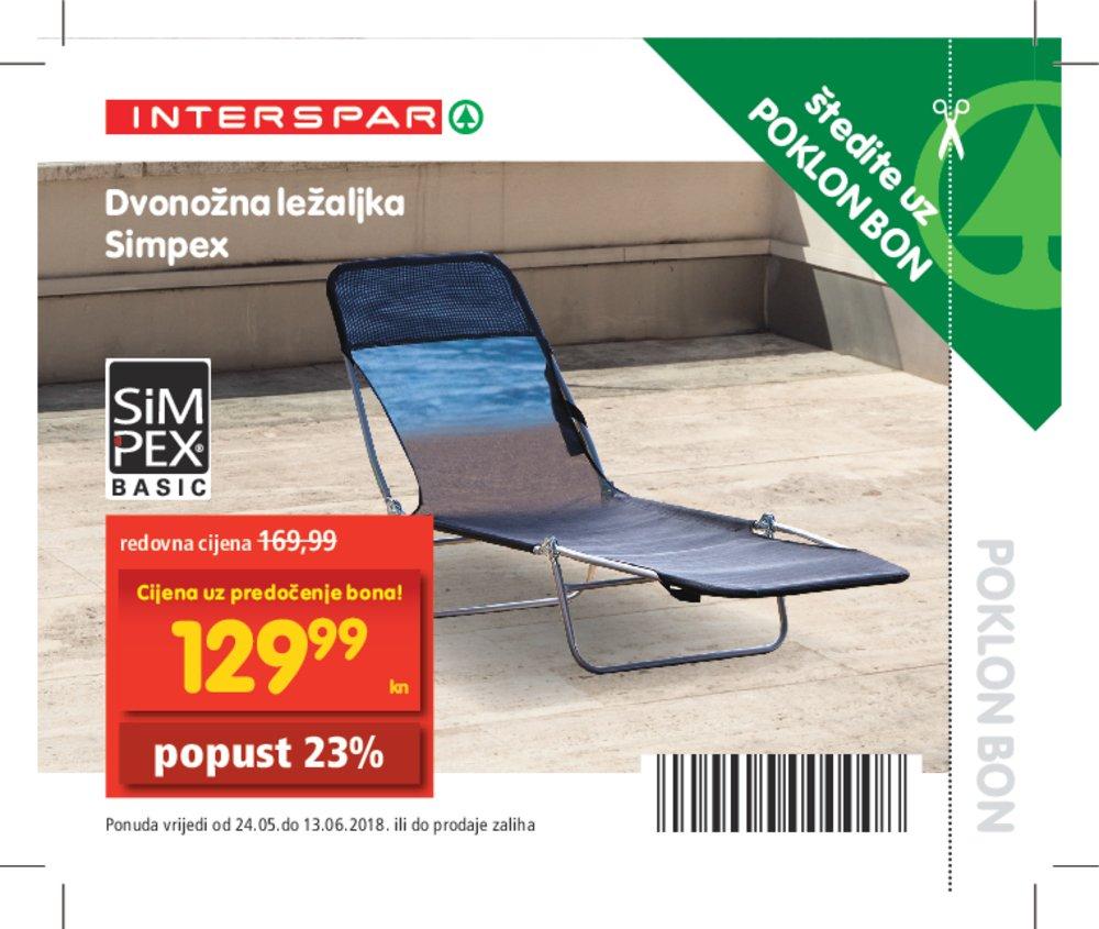 Interspar katalog bonovi 24.05.-13.06.2018.