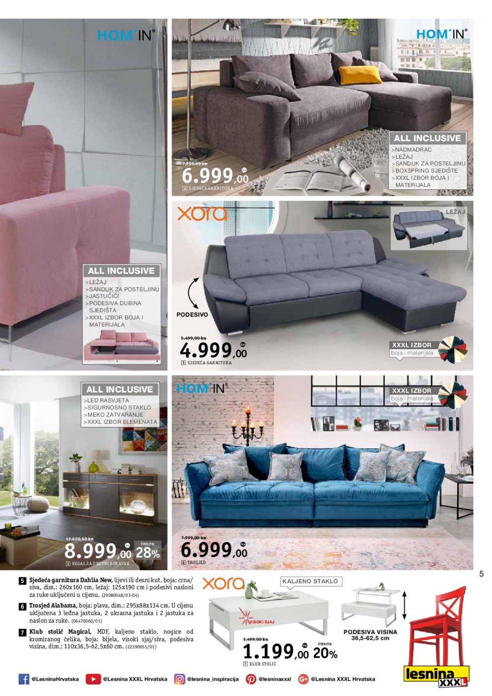 Lesnina katalog La dolce vita 29.05.-13.06.2018.