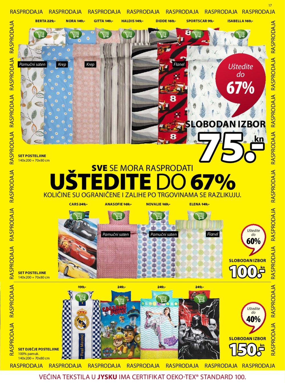 JYSK katalog Akcija 07.06.-20.06.2018.