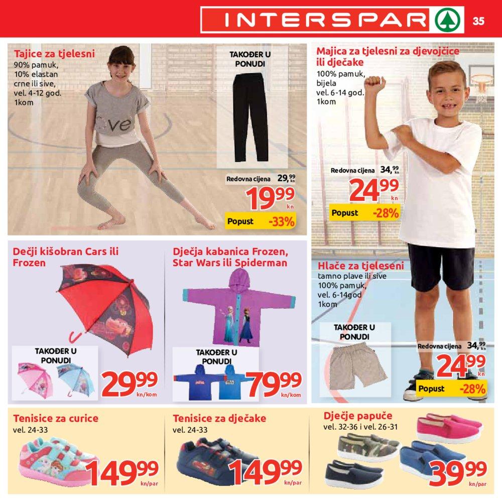 Interspar katalog Sve za školu 26.07. do 12.09.2017.