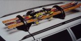 Magnetni nosač za 3 para skija - 2 snowboarda
