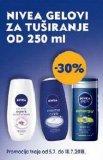 -30% na Nivea gelove za tuširanje od 250 ml