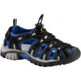 McKinley VAPOR 2, dječje sandale za planinarenje, crna