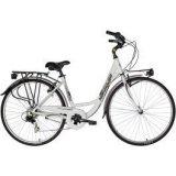 Nakamura Manhattan W, ženski gradski bicikl, bijela