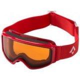 Tecnopro PULSE S, dječje skijaške naočale, crvena