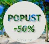 Do 50 % popusta u trgovini Diadema